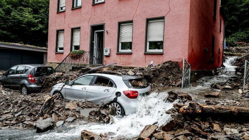 გერმანიაში წყალდიდობას, სულ მცირე, 11 ადამიანის სიცოცხლე ემსხვერპლა