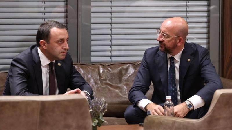 «Реформы нужны, как никогда» — Глава Евросовета напомнил премьеру Грузии о финпомощи ЕС