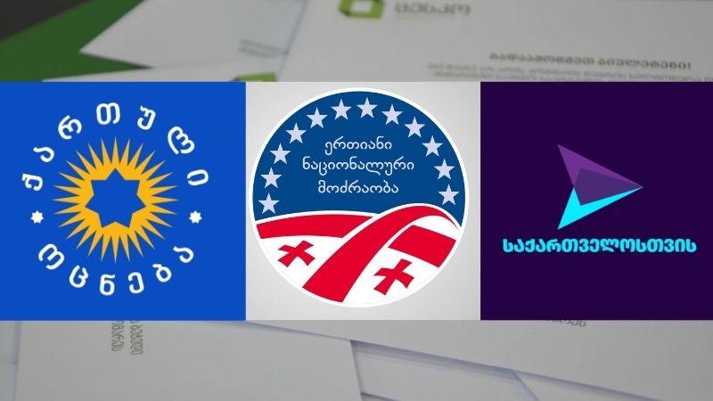 Опрос IRI: «Грузинская Мечта» — 28%, «Нацдвижение» — 15%, партия Гахария — 9%