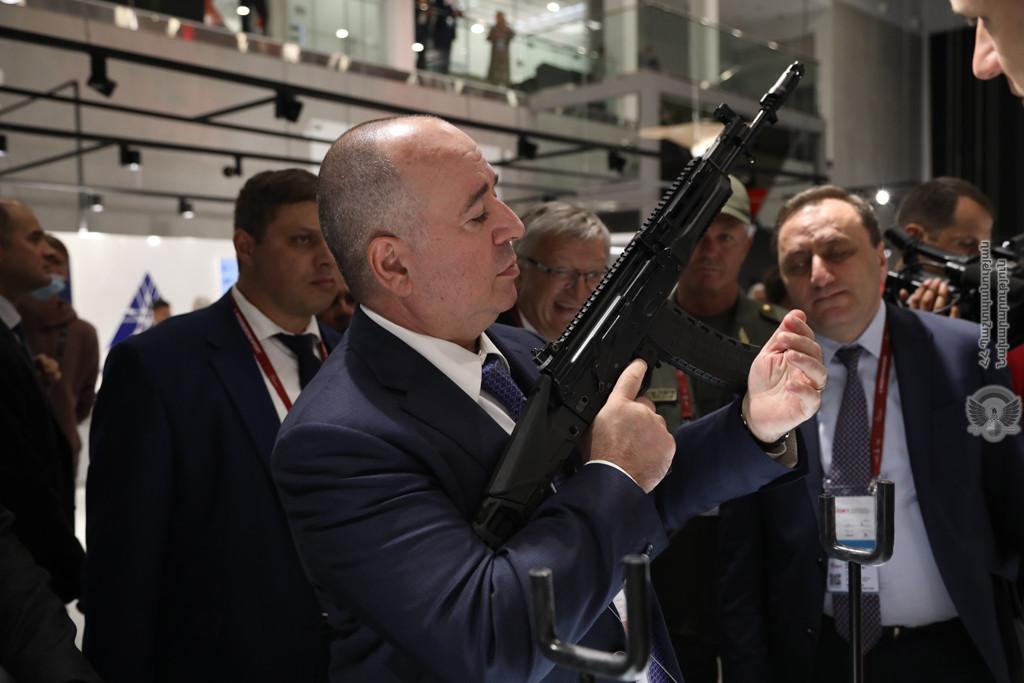 სომხეთმა რუსეთთან იარაღის შესყიდვაზე ახალი კონტრაქტი გააფორმა
