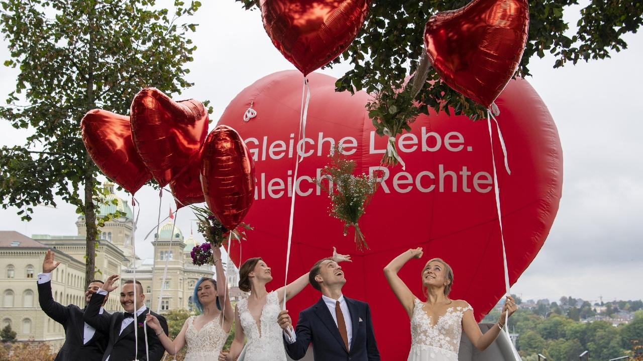 Итоги референдума: 64% швейцарцев поддержали однополые браки