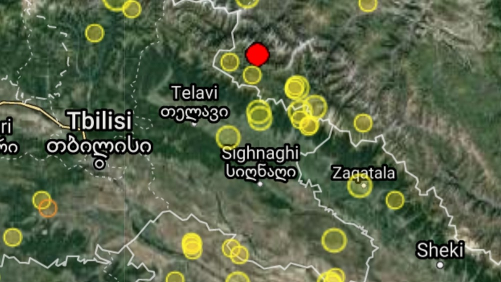საქართველო-რუსეთის საზღვართან მიწისძვრა მოხდა