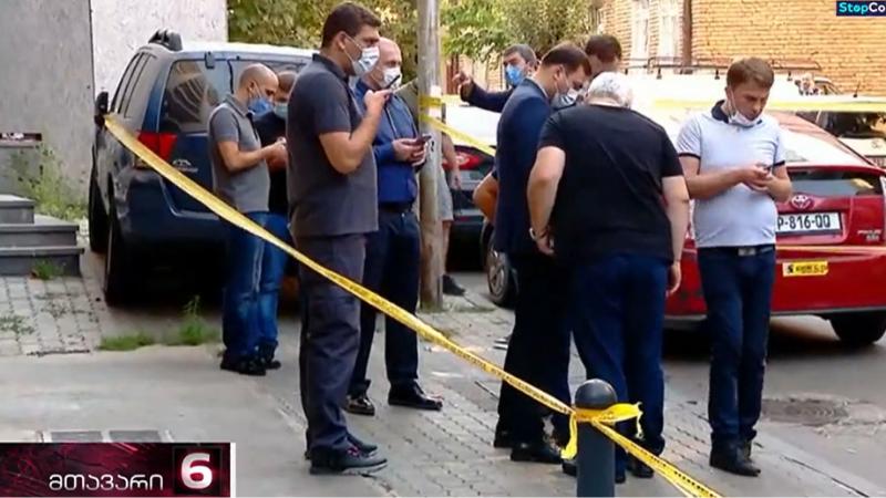 В центре Тбилиси ранен молодой человек
