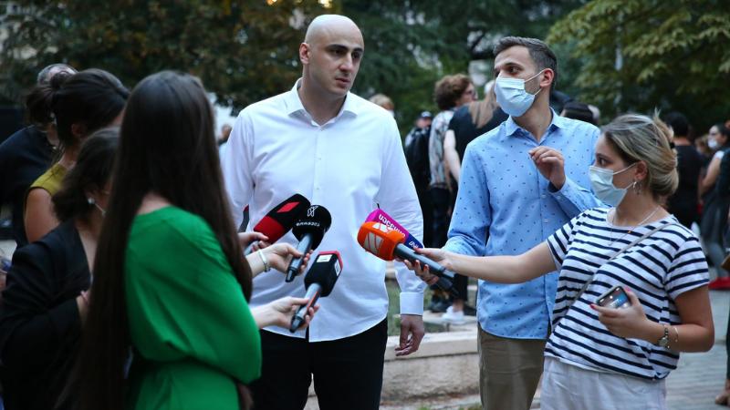 Ника Мелия прокомментировал конфликт с Ираклием Кобахидзе