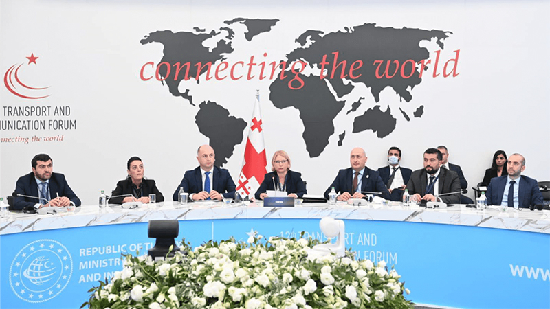 საქართველოს რკინიგზის გენერალური დირექტორი თურქეთში გამართულ ტრანსპორტის მინისტერიალს დაესწრო
