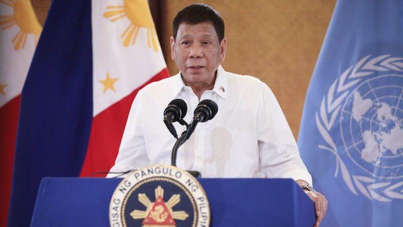 ვისაც აცრა არ სურს, ძილში უნდა ავცრათ — ფილიპინების პრეზიდენტი დუტერტე