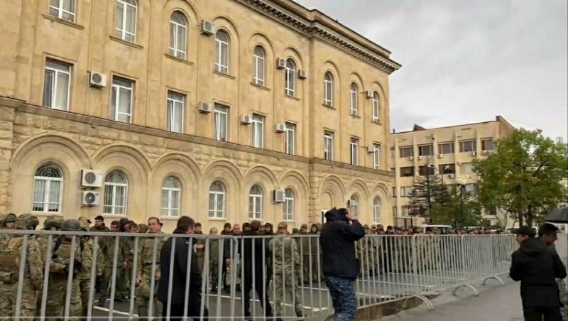 В Абхазии требуют отставки главы де-факто МВД