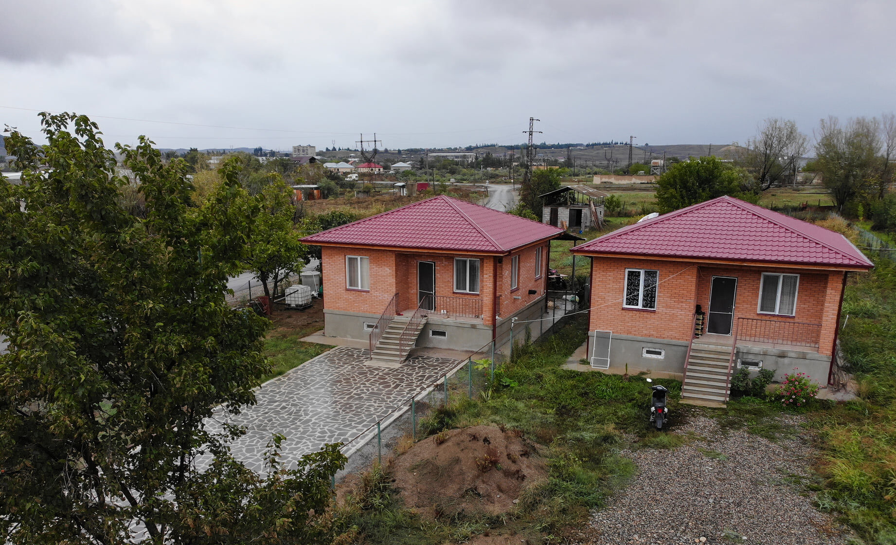 Грузинским беженцам построили дома на деньги из немецкого гранта
