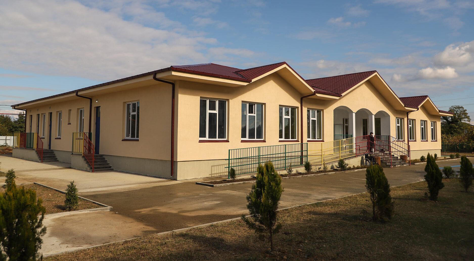 გერმანიის მხარდაჭერით ზუგდიდში 100 ბავშვზე გათვლილი საბავშვო ბაღი აშენდა