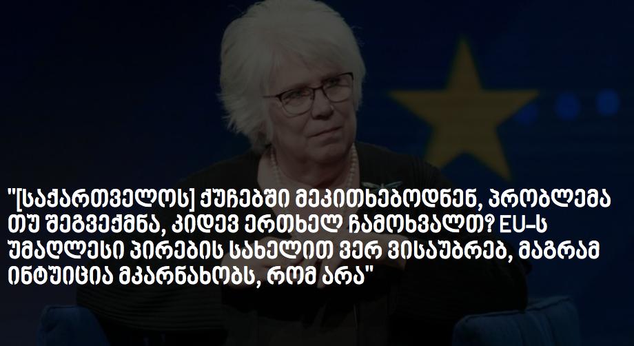ევროპარლამენტარი: შედეგმა ვადამდელი არჩევნების მოთხოვნა შეამცირა