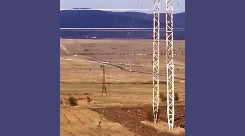 Российские оккупационные силы обновляют рвы у села Хурвалети
