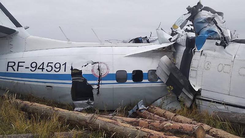 რუსეთში ავიაკატასტროფის შედეგად 16 ადამიანი დაიღუპა