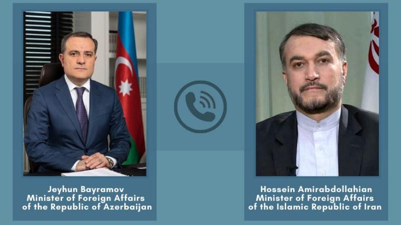 """""""უთანხმოება დიალოგით უნდა გადაიჭრას"""" – ირანისა და აზერბაიჯანის მინისტრები"""